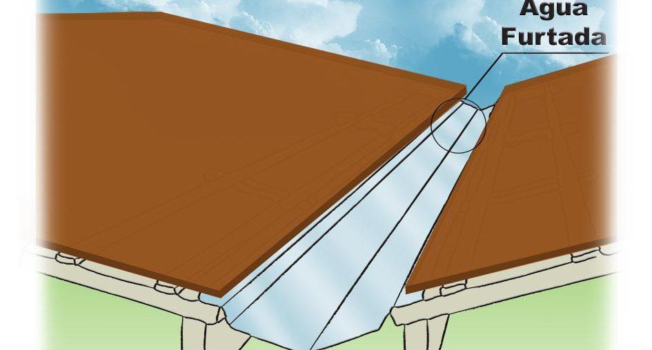 Rincão no telhado