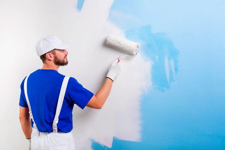 Como pintar uma parede rebocada
