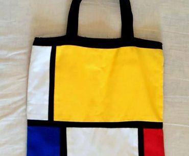 sacola ecobag colorida