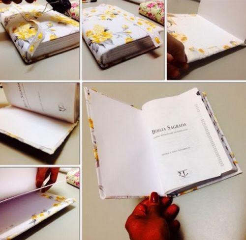 Fazendo capa para a bíblia - Passo 2