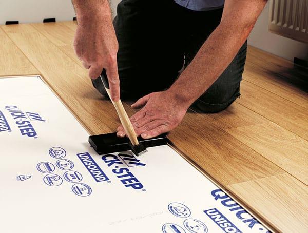 Instalando um piso laminado