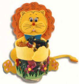 Leão para guardar doces