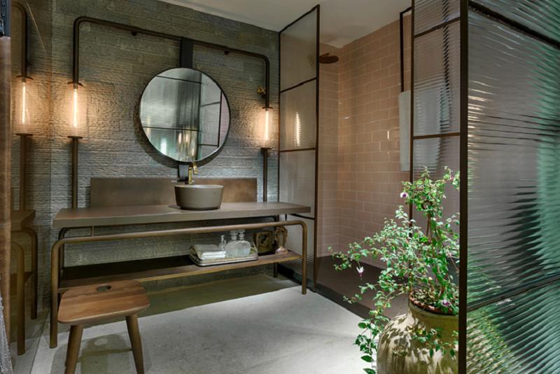 banheiro canelado