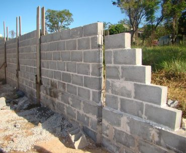 Como construir um muro