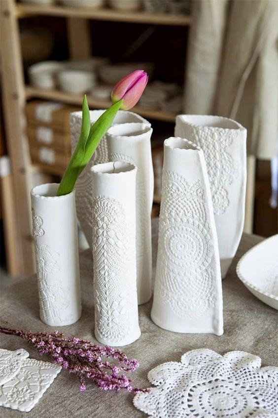 ideias de artesanato com massa de sal