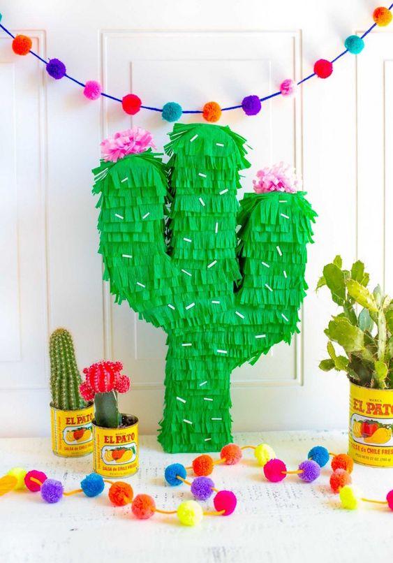 ideias de como fazer uma piñata