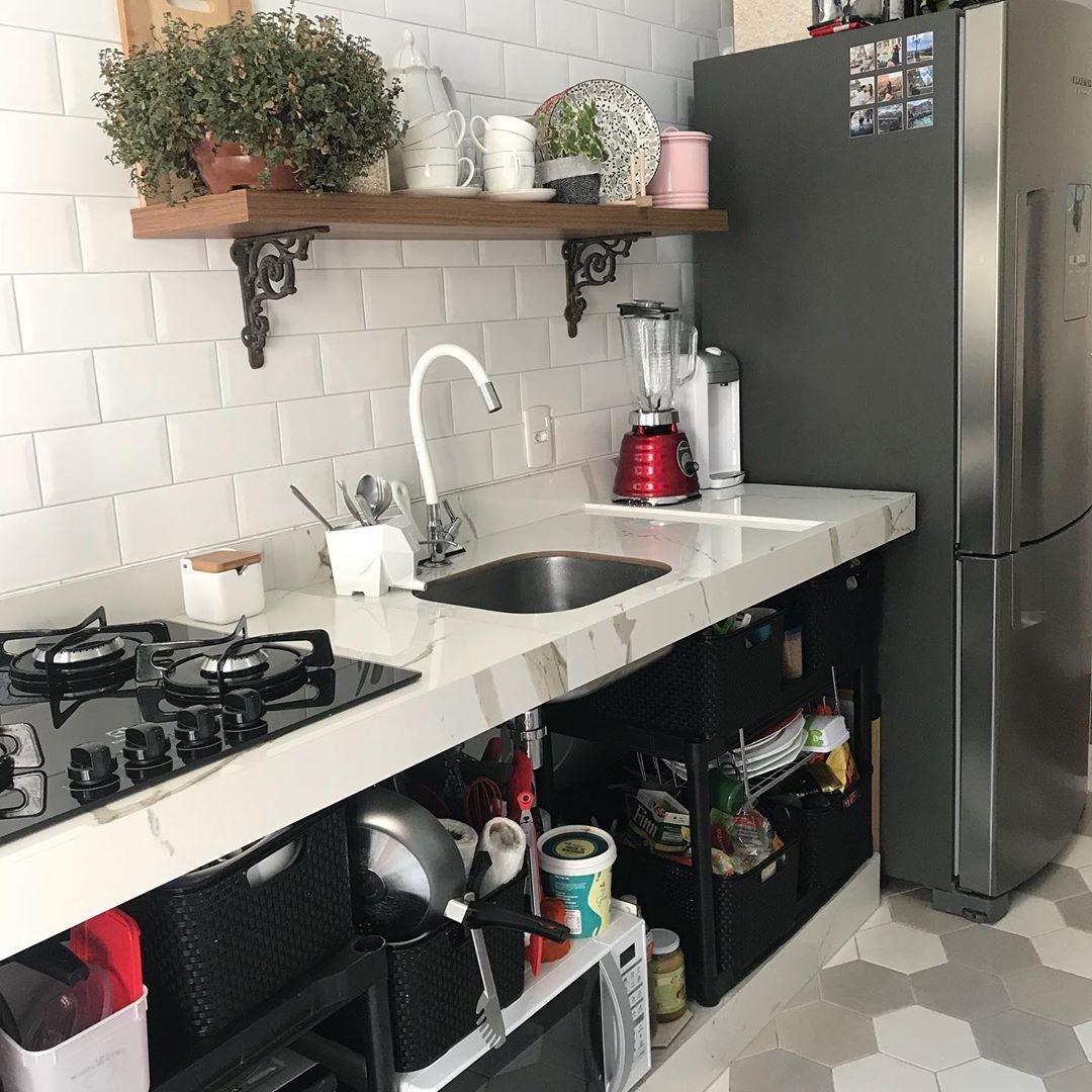 cozinha sem armario