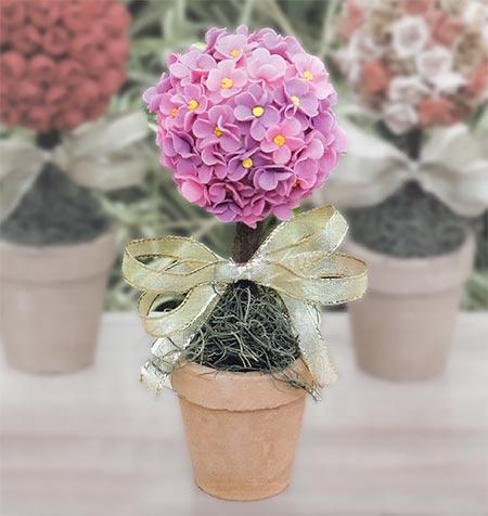 flor de biscuit - Modelo 1