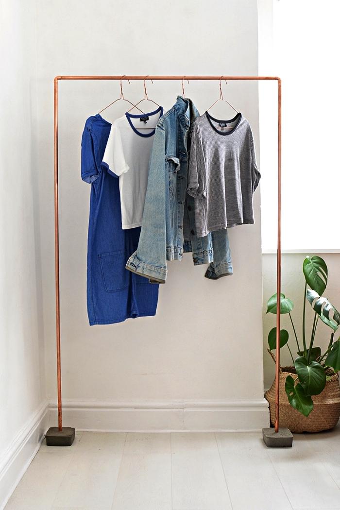 guarda roupa de metal fácil de fazer