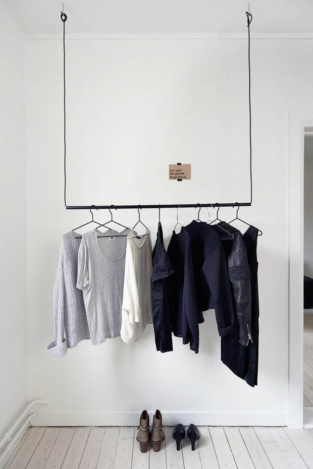 guarda roupa no teto
