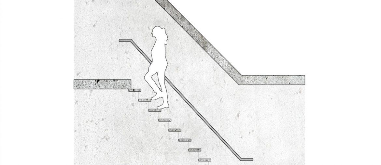 largura minima de uma escada