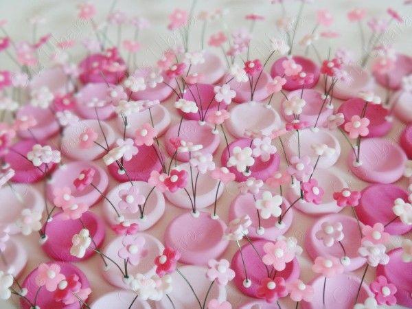 forminhas de flor de biscuit