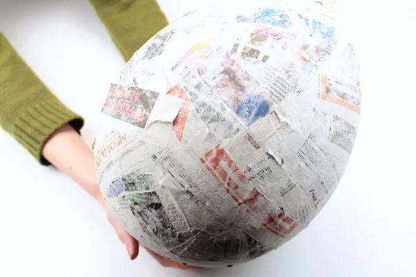 piñata redonda