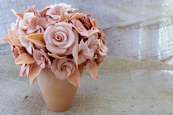 vaso e flor combinando