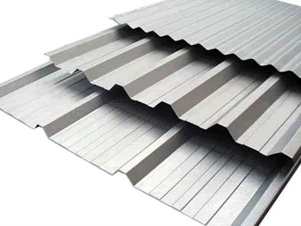 Modelos de telhas de alumínio