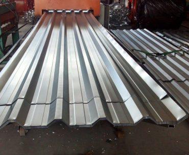 Telhas de alumínio