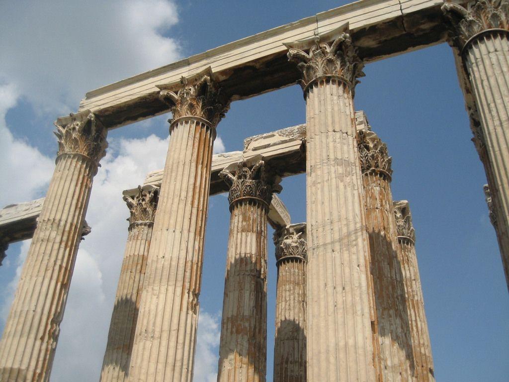 colunas arquitetura grega