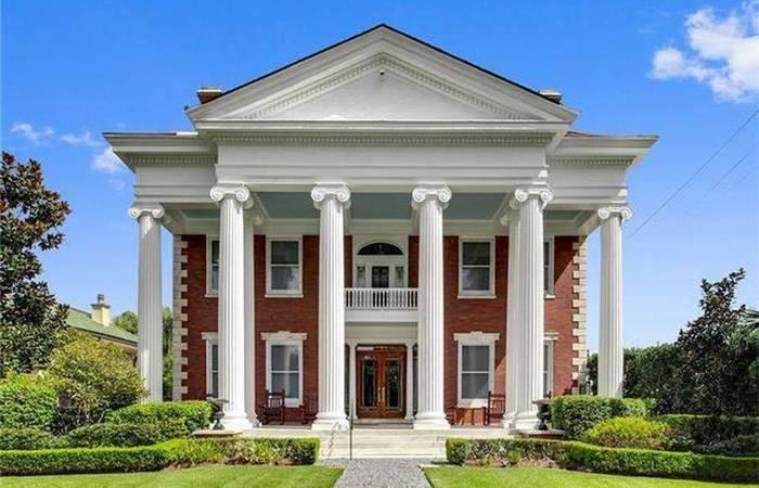 casa estilo neoclassico