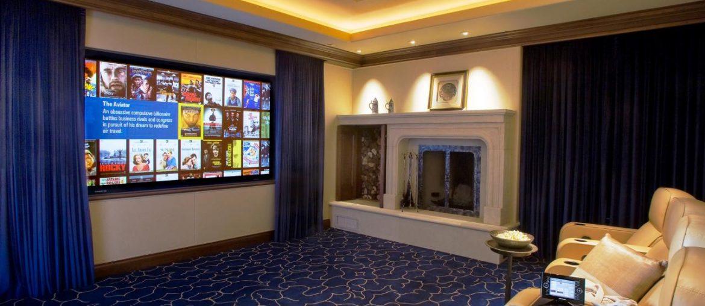 tv cinema em casa