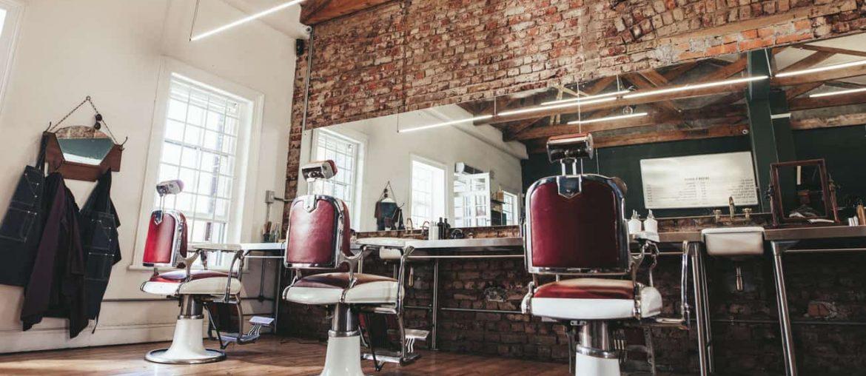 decoracao de barbearia