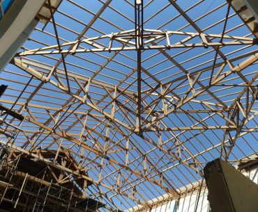 Madeiramento do telhado