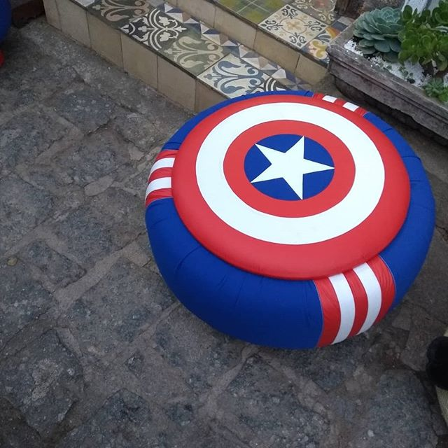 puff capitão america