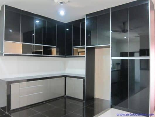 espelho fume na cozinha