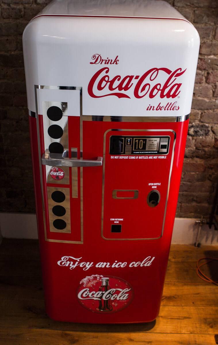 Geladeira Coca Cola